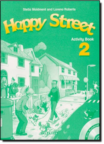 9780194402958: Happy Street 2: Activity Book and MultiROM Pack