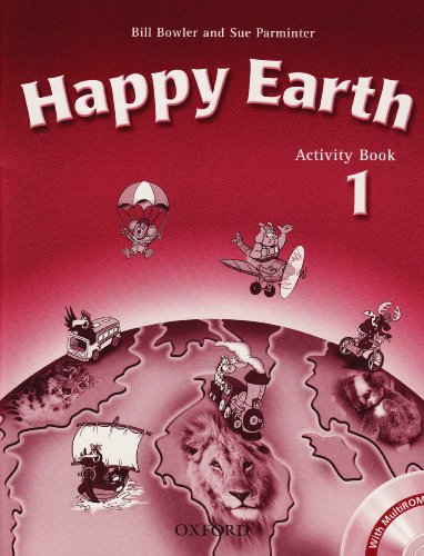 9780194402965: Happy Earth 1: Activity Book & Multi-ROM Pack