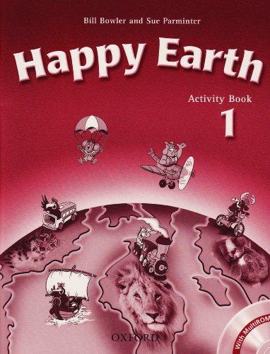 9780194402965: Happy Earth: Happy Earth 1: Activity Book & Multi-ROM Pack Activity Book and Multi-ROM Pack Level 1