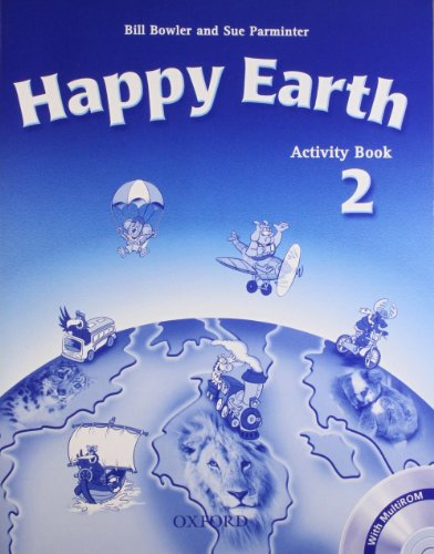 9780194402972: Happy Earth 2: Activity Book & Multi-ROM Pack: Activity Book and Multi-ROM Pack Level 2