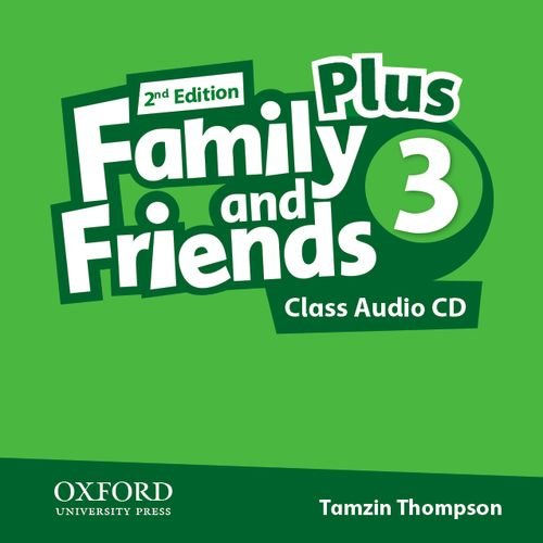 9780194403474: Family & Friends 2e Plus 3 Class Audio CD