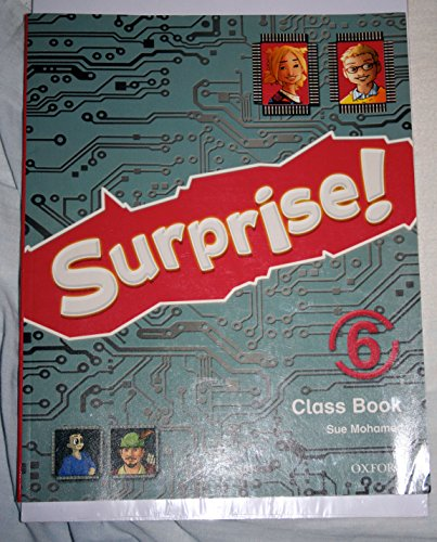 9780194408059: Surprise 6º Primaria Class Book