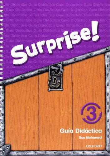 9780194408141: Surprise 3: Guia Didactica