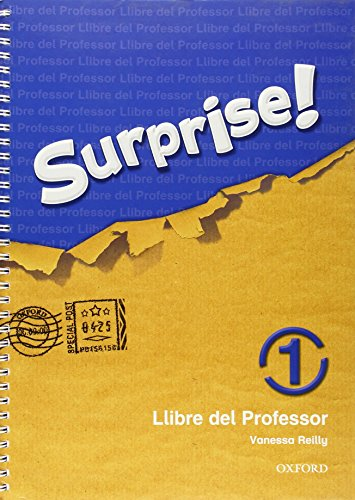 9780194408189: Surprise 1: Llibre del Professor