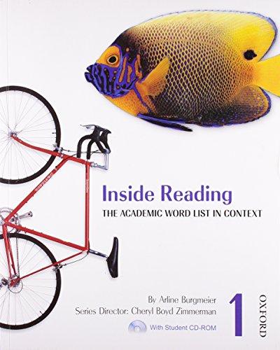 Inside Reading 1 Student Book Pack: The: Arline Burgmeier, Cheryl