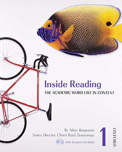 9780194416122: Inside Reading 1 Student Book Pack: The Academic Word List in Context