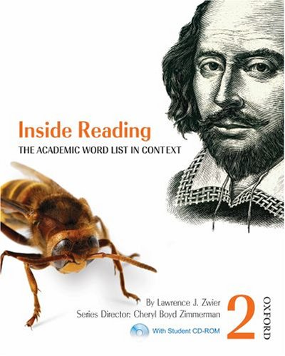 9780194416139: Inside Reading 2 Student Book Pack: The Academic Word List in Context