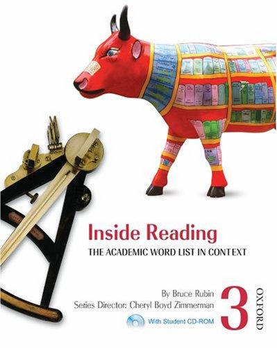 Inside Reading 3 Student Book Pack: The: Rubin, Bruce; Boyd