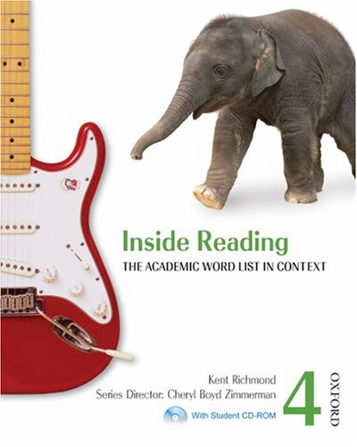 9780194416153: Inside Reading 4 Student Book Pack: The Academic Word List in Context