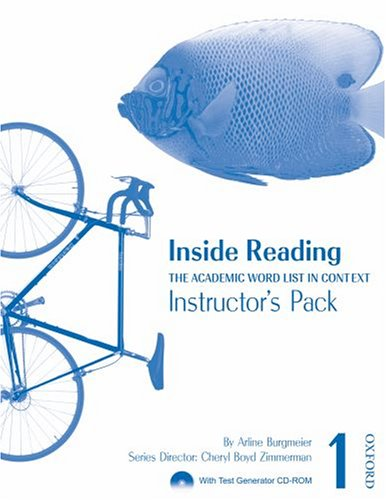 9780194416207: Inside Reading 1 Instructor Pack: The Academic Word List in Context
