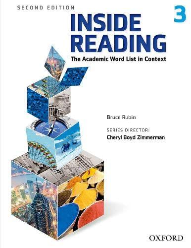 Inside Reading 2e Student Book 3: Bruce Rubin