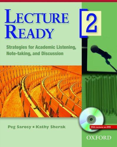 9780194417082: Lecture Ready 2 Student Book with DVD: Strategies for Academic Listening, Note-taking, and Discussion (Lecture Ready Series)