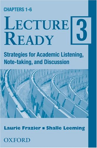 Lecture Ready 3: Cassettes (2): Frazier, Laurie, Leeming,