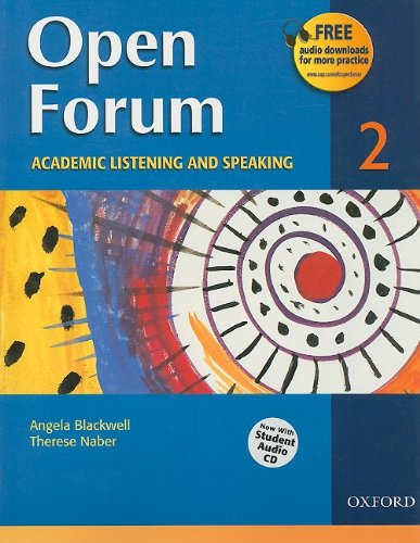9780194417839: Open Forum Student Book 2: with Audio CD