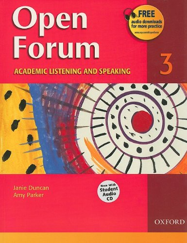 9780194417853: Open Forum Student Book 3: with Audio CD