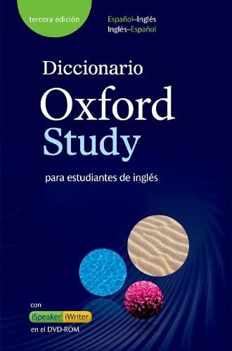 9780194419413: Diccionario Oxford Study 3e Pack: Oxford Study Interact CD-ROM
