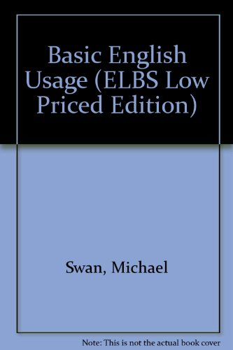 9780194421294: Basic English Usage (ELBS Low Priced Edition)