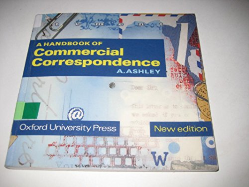 9780194421447: Handbook of Commercial Correspondence, A (Educational Low-Priced Books Scheme)