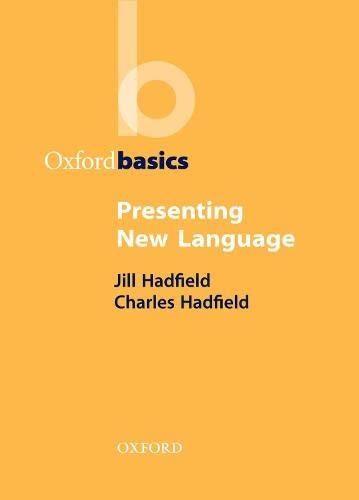 9780194421676: Presenting New Language (Oxford Basics)