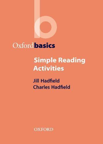 9780194421737: Oxford Basics: Simple Reading Activities