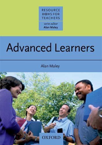 9780194421942: Advanced Learners (Resource Books for Teachers)