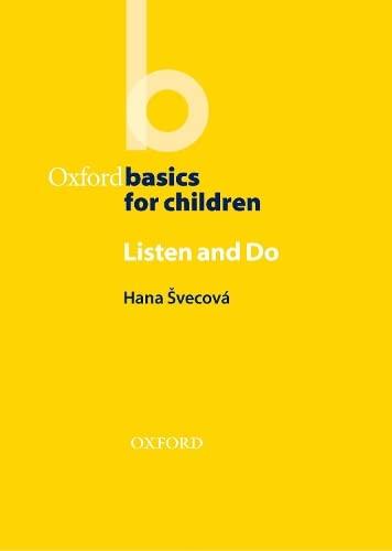 9780194422406: Oxford Basics for Children: Listen and Do