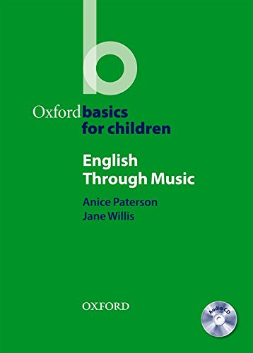 9780194422703: English Through Music (Oxford Basics for Children)
