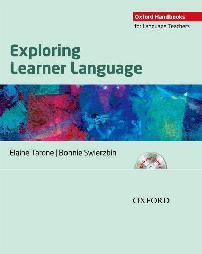 9780194422918: Exploring Learner Language (Oxford Handbooks for Language Teachers Series)