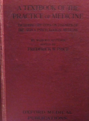 9780194423441: Price's Textbook of the practice of medicine (Oxford medical publications)