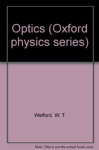 9780194424288: Optics (Oxford physics series)