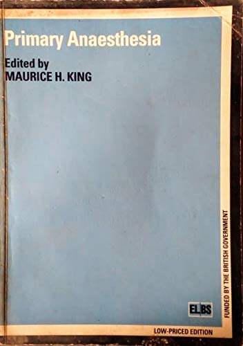 9780194424479: Primary Anaesthesia