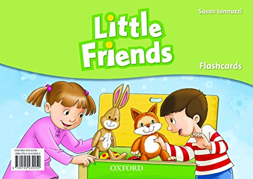 9780194432252: Little Friends. Flashcards