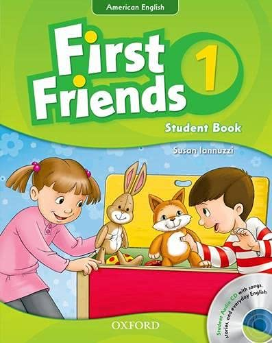 9780194433433: First Friends (American English): 1: Student Book and Audio CD Pack: First for American English, First for Fun!