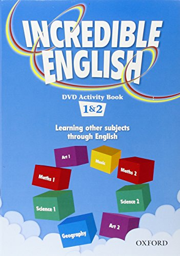 9780194441032: Incredible English: 1 & 2: DVD Activity Book