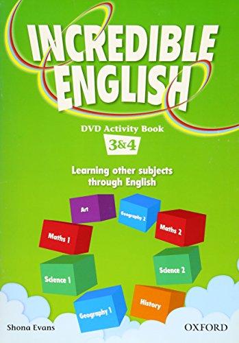 9780194441117: Incredible English: 3 & 4: DVD Activity Book