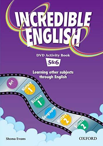 9780194441124: Incredible English: 5 & 6: DVD Activity Book