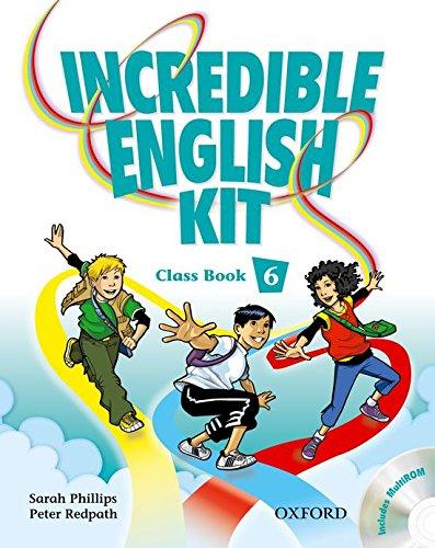 9780194441735: INCREDIBLE ENGLISH KIT 6 CB & CD-ROM PK