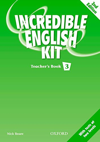 9780194441919: INCREDIBLE ENGLISH KIT 3 TB 2E