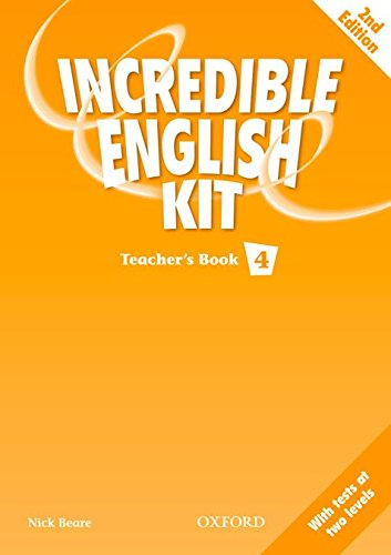 9780194441926: INCREDIBLE ENGLISH KIT 4 TB 2E