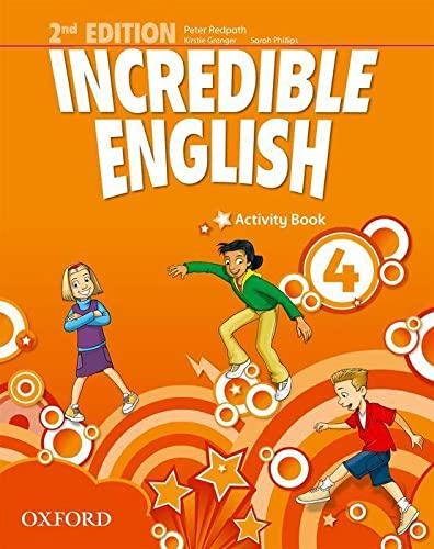 9780194442435: Incredible english. Activity book. Per la Scuola elementare: 4