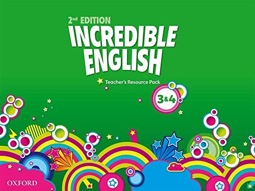 9780194442718: Incredible English: Levels 3 and 4: Teacher's Resource Pack