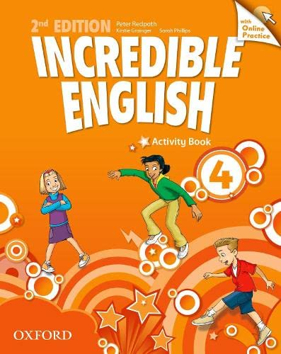 9780194442886: Incredible English: 4: Workbook with Online Practice Pack