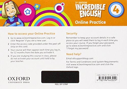 Incredible English 2e 4 Teachers Access Pack