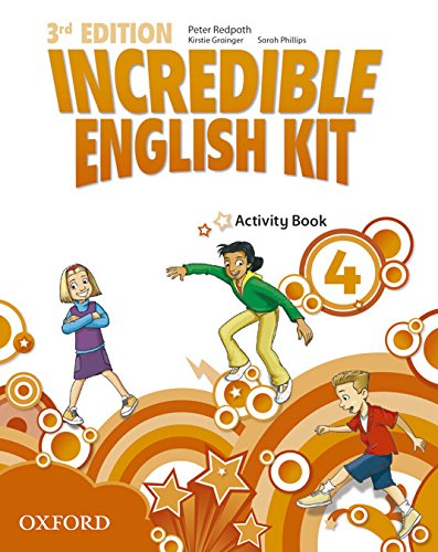 9780194443708: Incredible English Kit 4: Activity Book 3rd Edition