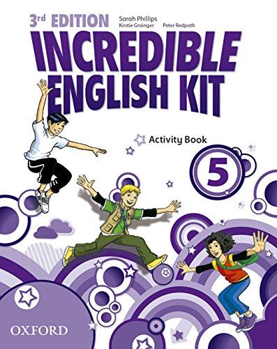 9780194443722: Incredible English Kit 5: Activity Book 3rd Edition