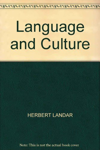 9780194450218: Language and Culture