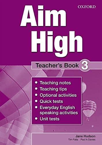9780194453103: Aim High Level 3: Teacher's Book: Aim High Level 3 Teacher's Book 3