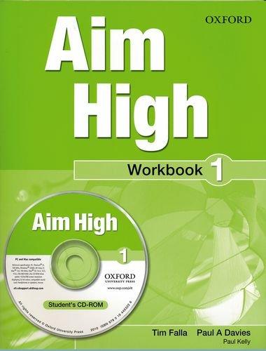 9780194453219: Aim High Level 1: Workbook: Aim High Level 1 Workbook & CD-ROM 1