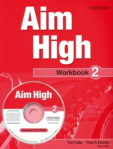 9780194453233: Aim High Level 2: Workbook & CD-ROM: A New Secondary Course Which Helps Students Become Successful, Independent Language Learners.