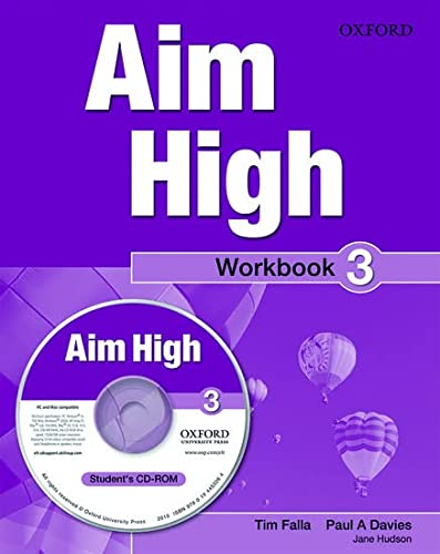 9780194453257: Aim High Level 3 Workbook & CD-ROM: A new secondary course which helps students become successful, independent language learners.